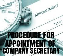 Procedure-Appointment-Company-Secretary