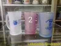 souvenir gelas dove
