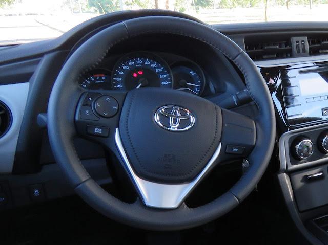 Toyota Corolla 2018 - volante não tem boa pega