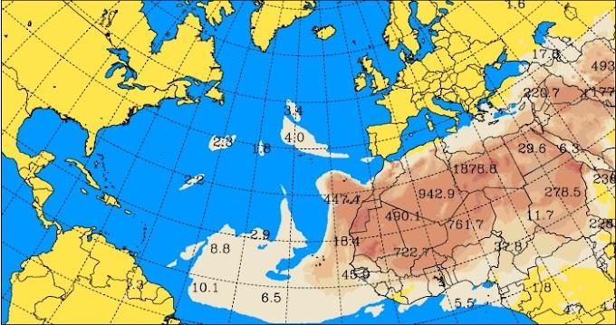 Densa calima en Canarias, viernes 13 enero