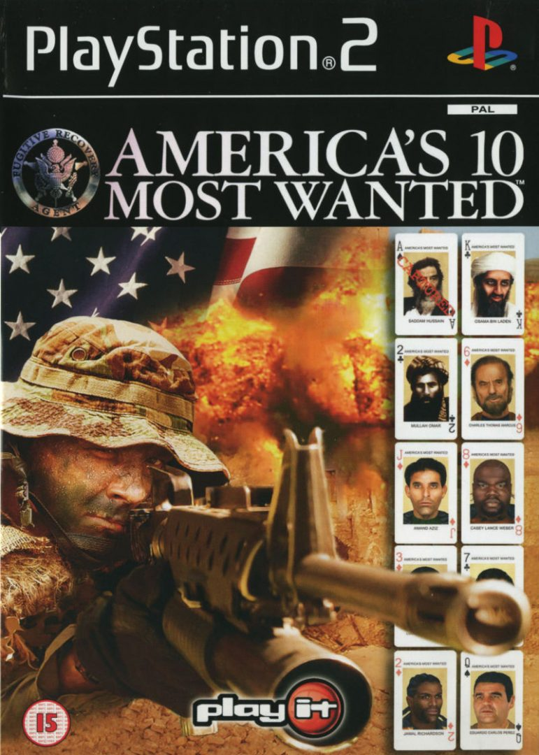 America's 10 Most Wanted PAL PS2