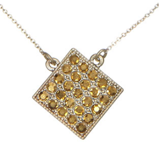 Simple Glitter Diamond pendant: $11.50