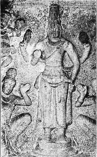 Image of Vishnu Worshipped by Yogis and Those Who Seek Moksha