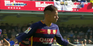LFP-Week-30 : Villarreal 2 vs 2 Barcelona 20-03-2016