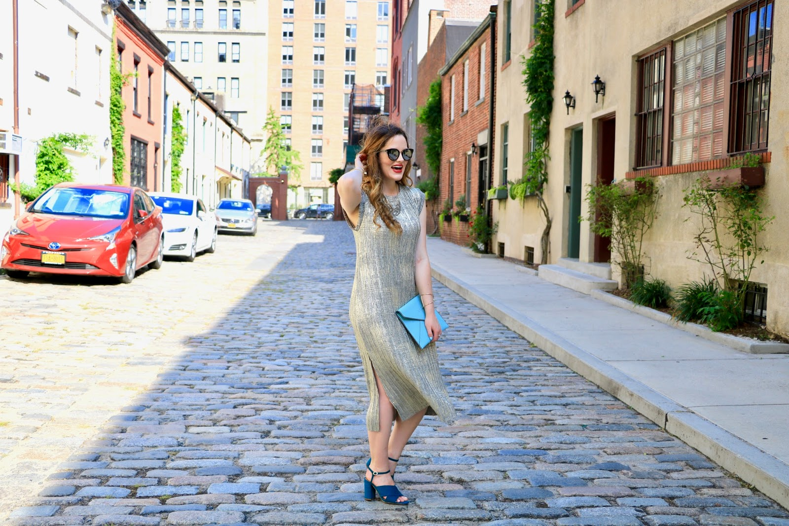 NYC fashion blogger Kathleen Harper wearing Anthropologie