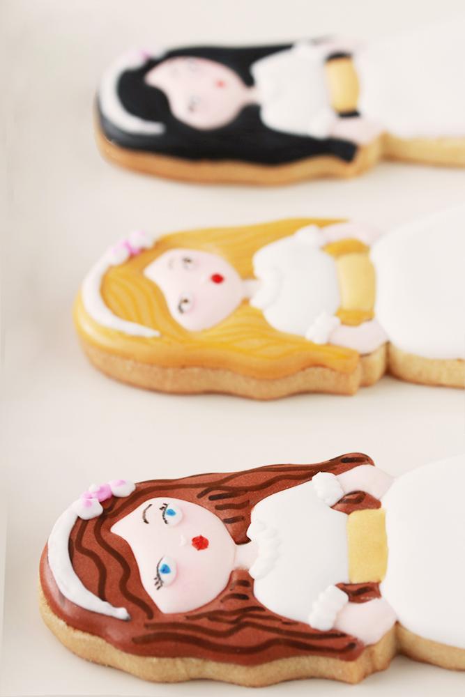 Galletas decoradas comunión para niñas