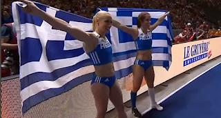 Χρυσό μετάλλιο η Στεφανίδη, ασημένιο η Κυριακοπούλου στο Ευρωπαϊκό Πρωτάθλημα στίβου