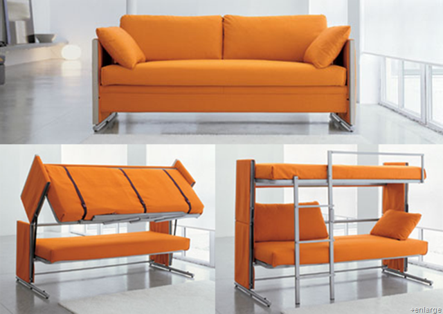 couch that turns into bunk bed price 2