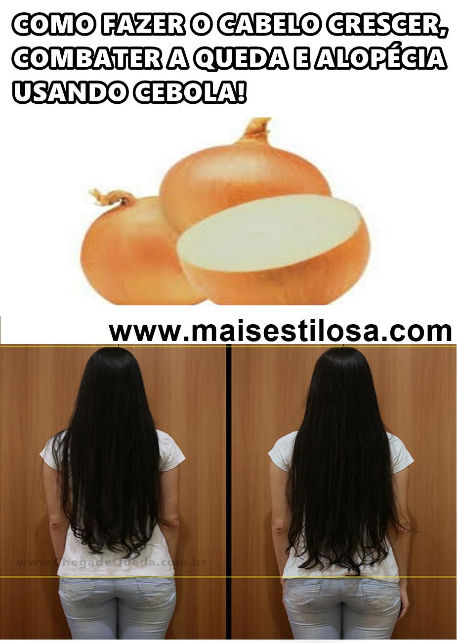 cebola no cabelo para queda beneficios