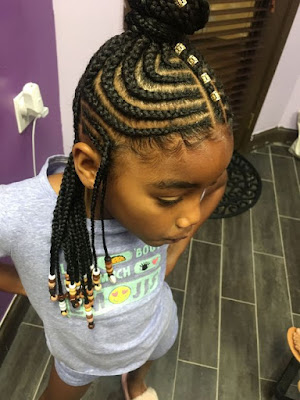 32 African Long Tribal Braids Ponytail Updos To Try In 2019 1