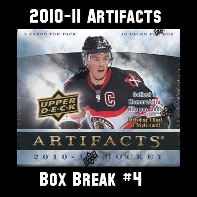 2010-11 Artifacts Box Break #4