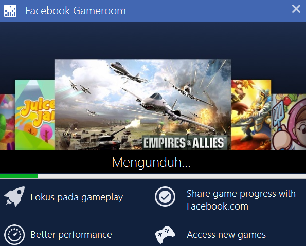 Cara Isntal Gameroom Facebook