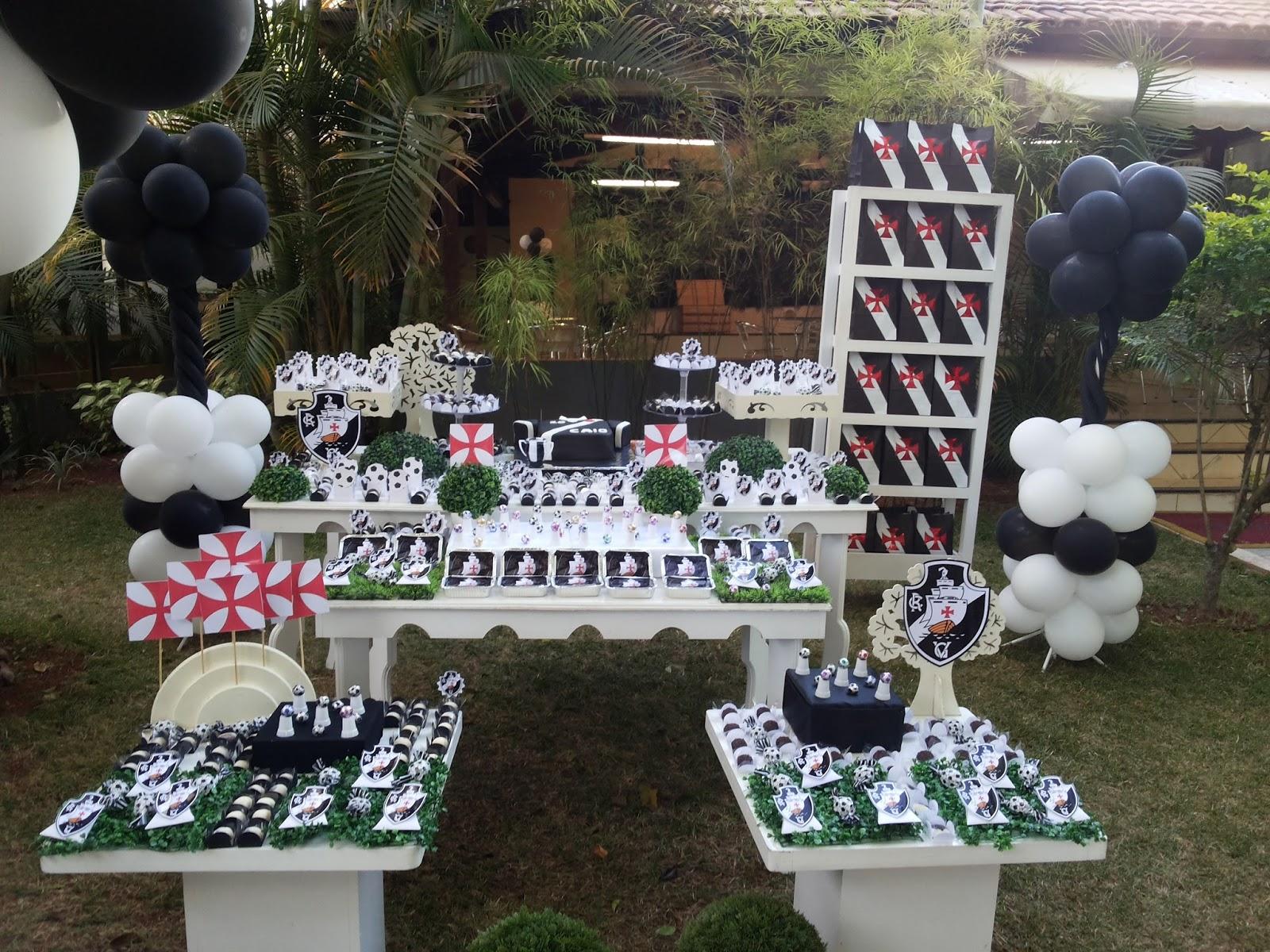 Futebol do vasco-Decoração Provençal para festa infantil - Corujinha Baby  Festas e24811283b586