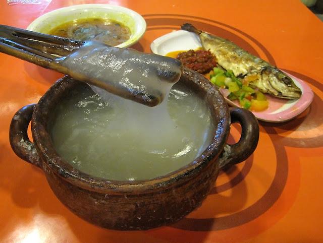 papeda | makanan khas manokwari | wonderful Indonesia
