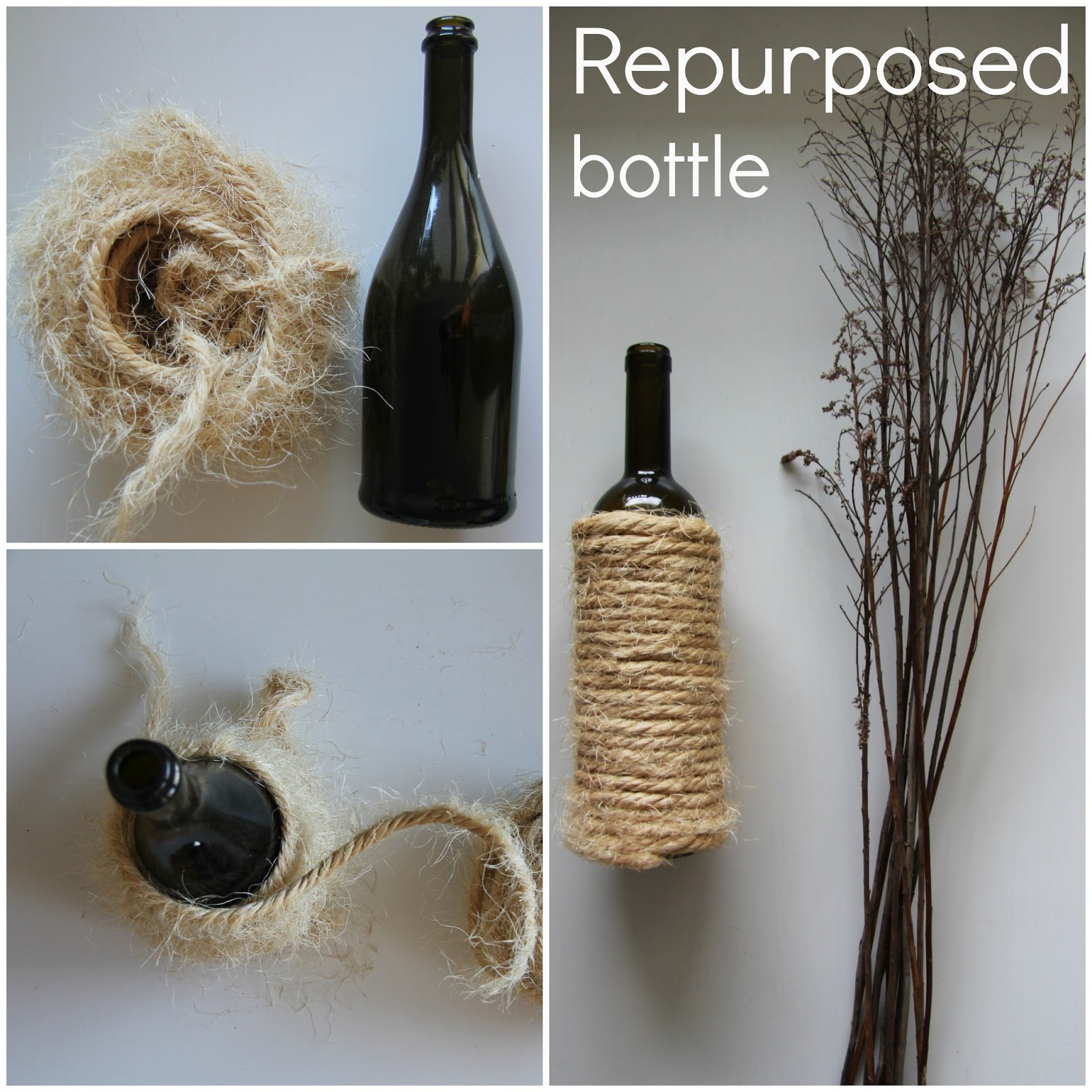repurposed bottles diy