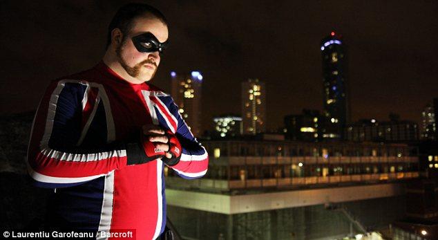 Superbohater z Wielkiej Brytanii