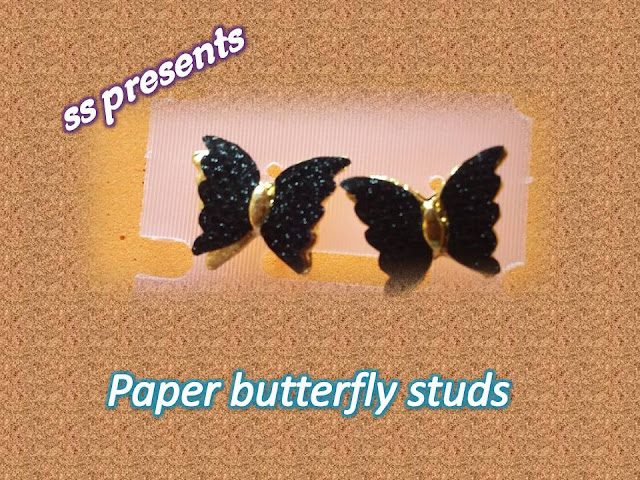 Here is how to make paper jewellery at home,1000+ ideas about Paper Jewelry,Images for paper jewellery making techniques,Images for paper jewellery designs,Images for paper earrings models,How to make paper butterfly ear rings