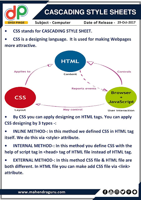 DP | Cascading Style Sheets ( CSS ) | 29 - 10 - 17