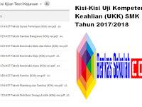 Kisi-Kisi Uji Kompetensi Keahlian (UKK) SMK Tahun 2017/2018