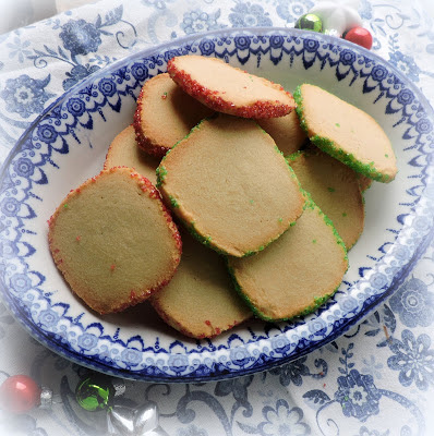 Slice and Bake Shortbread Cookies