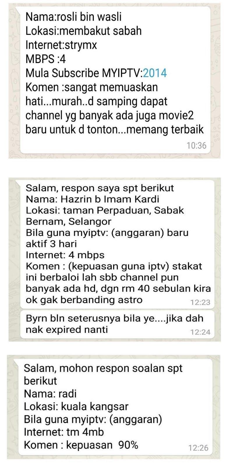 CHANNELS - IPTV Malaysia