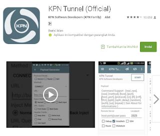aplikasi kpn tunnel untuk internet gratis di android