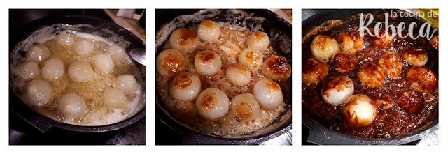 Receta de cebollitas glaseadas: glaseado