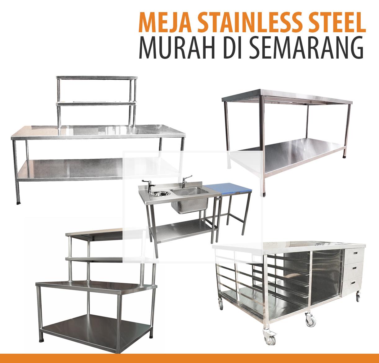 Jual Meja Stainless Steel Semarang