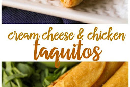 Cream Cheese and Chicken Taquitos Recipe