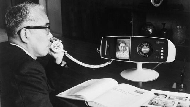 Видеотелефон «Тошиба» — «первый Скайп» 1968 года