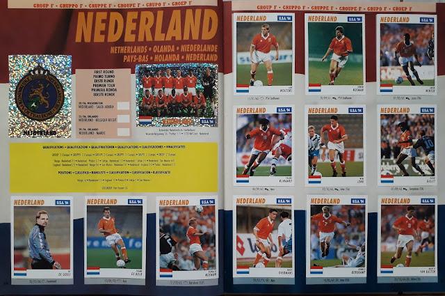 USA 94 WORLD SOCCER CHAMPIONSHIP GROUP F NEDERLAND