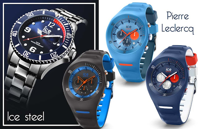Ice watch montre homme Ice stell et Pierre Leclercq