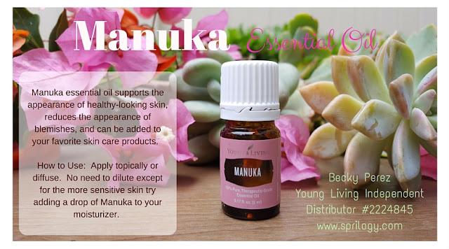 Sprilogy Manuka Essential Oil