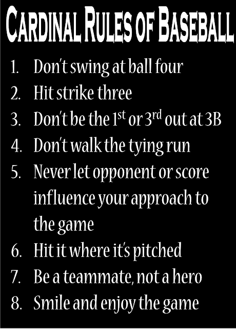 Baseball Rules Tag With The Ball 111