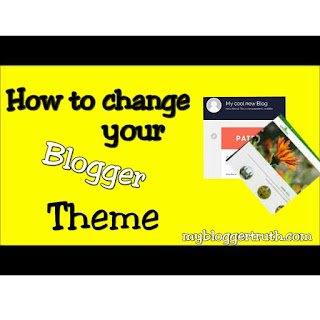 Change blogger themes