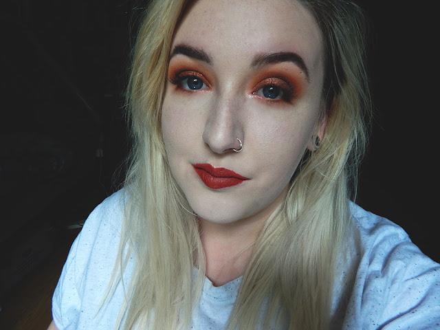 Pumpkin Spice Latte || Makeup Look