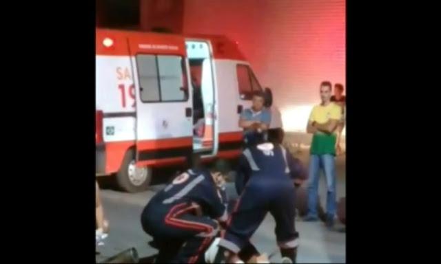 Grávida morre em acidente e cesária é feita às pressas no local