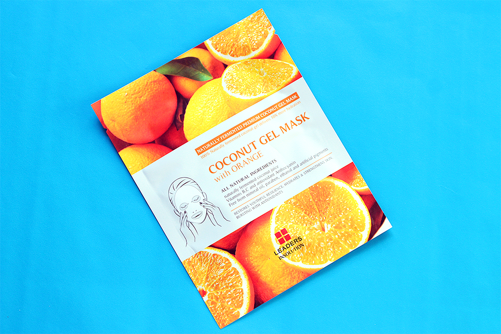 Leaders Insolution Superfood Coconut Gel Orange Mask review