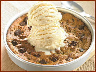 easy pizookie dessert for a pizza party