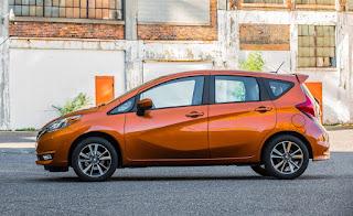 2018 Nissan Versa Note - voitures les moins chères