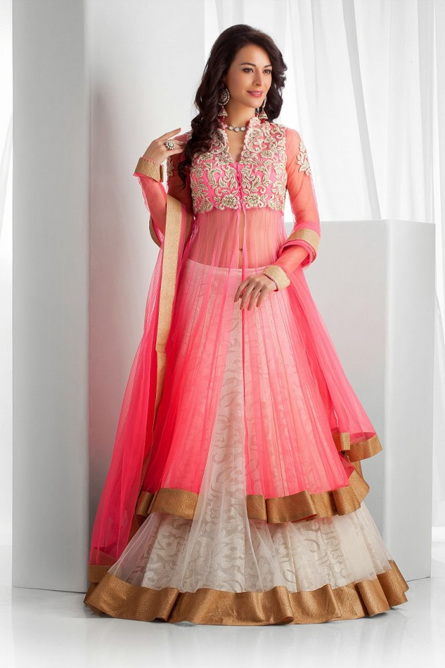 fashion : Indian-Party-Wear-Dress-Collection-for-Girls 2016