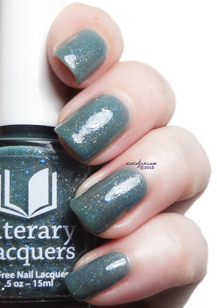 xoxoJen's swatch of Literary Lacquers Ventomarme