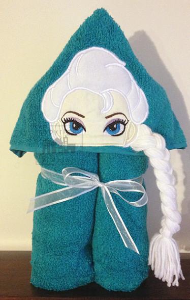 Download free elsa hoodie embroidery applique design