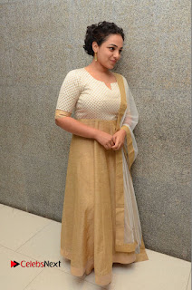 Actress Nithya Menen Pictures at 100 Days of Love Pre Release Press Meet  0190.JPG
