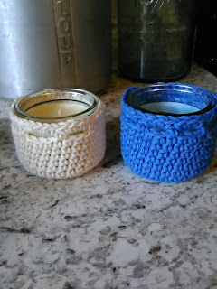 dollar tree crafts small candle cozy free pattern