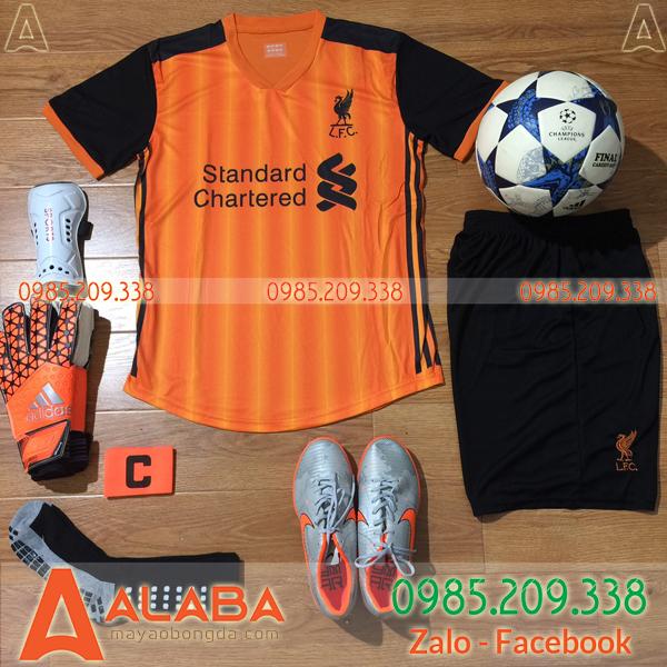Áo CLB Liverpool 2019 Màu Cam Đen