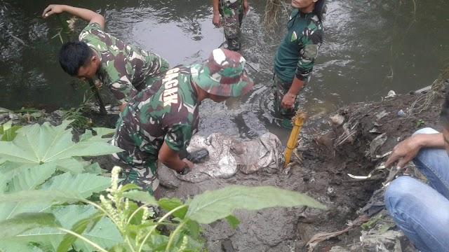 Kedapatan Buang Limbah Kotor Tengah Malam, Lubang Pembuangan PT Teguh Jaya Pranata Ditutup Lagi