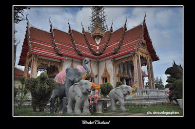 wat chalong, phuket, thailand, buddha, chedi