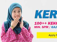 Jawatan Kosong Kerani - 100++ Kekosongan / Min. SPM / Gaji RM2,000.00++