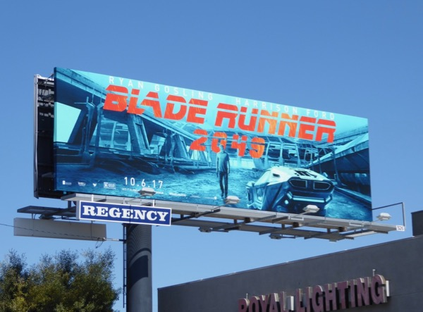 Blade Runner movie billboard